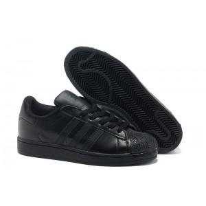 Oferta Hombre Mujer Adidas Originals Superstar 2 Casual Zapatillas Negras G14748 Online Baratas