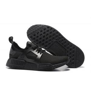 Compra Hombre Mujer Adidas Originals NMD XR1 Zapatillas de Running Triple Negras Baratas