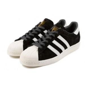 Compra Hombre Mujer Zapatillas: Adidas Originals Superstar Foundation Core Negras B25961 Rebajas Baratas