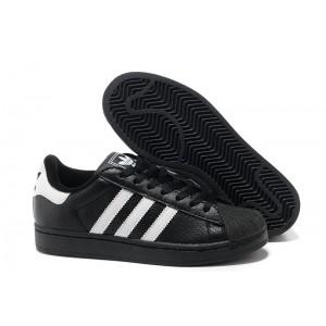 Venta Mujer Negras Blancas 664819 Adidas Originals Superstar 2 Casual Zapatillas España Rebajas