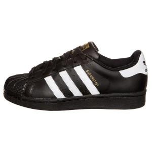 Comprar Hombre Mujer Zapatillas: Adidas Originals Superstar Foundation Negras Blancas B23642 Rebajas Online
