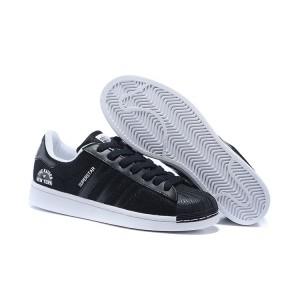"""Nueva Adidas Originals Superstar """"Beckenbauer Pack"""" Zapatillas 2016 Hombre Mujer Core Negras Core Negras Blancas S77766 Baratas"""