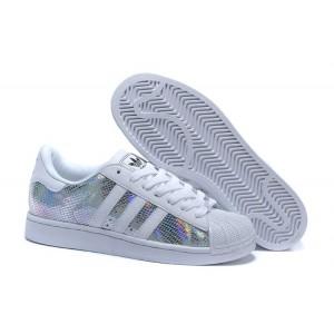 Comprar Hombre Mujer Blancas Multicolor M20904 Adidas Originals Superstar II Zapatillas España Baratas