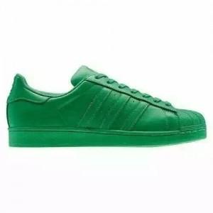 Nueva Hombre Mujer Adidas Originals Superstar Supercolor Pack Verdes Verdes Verdes S83389 Zapatillas Rebajas Online