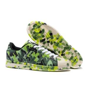 """Compra Adidas Originals Superstar """"Graphic Pack"""" - 2016 Hombre Mujer Zapatillas Bright Verdes B35405 España"""