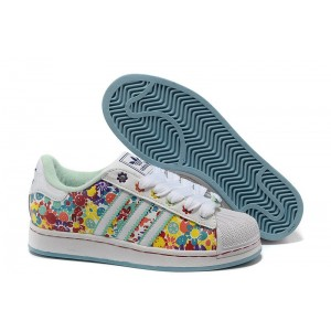 Comprar Mujer Multi-color 028189 Adidas Originals Superstar 2 Print Casual Zapatillas Rebajas
