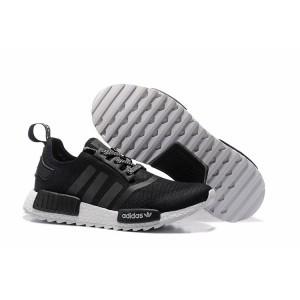 Venta Hombre Mujer Adidas Originals NMD XR4 Zapatillas de Running Core Negras Blancas Baratas