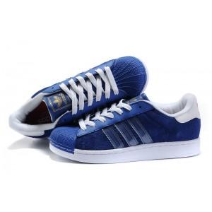 Comprar Hombre Adidas Originals Superstar II Zapatillas Azul Bird G43033 Zapatillas de Running Outlet España