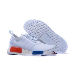 Comprar Hombre Zapatillas - Adidas Originals NMD High Top Blancas Claro Grises Outlet España