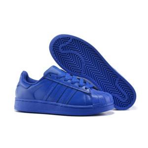 Venta Hombre Mujer Adidas Originals Superstar Supercolor Pack Zapatillas Bold Azul Bold Azul Bold Azul S41814 Baratas