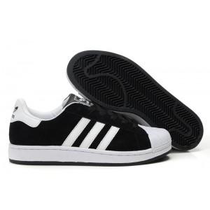 Compra Hombre Mujer Adidas Originals Superstar 2 Negras Blancas G50965 Casual Zapatillas Rebajas Online