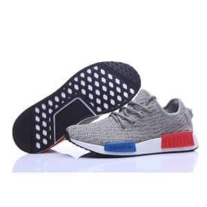 Nueva Adidas NMD Runner X Yeezy Boost 350 Hombre Zapatillas Grises Olive Online Baratas