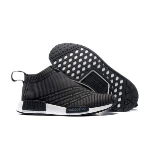 Oferta Hombre Adidas Originals NMD High Top Sneaker Negras Blancas España Rebajas