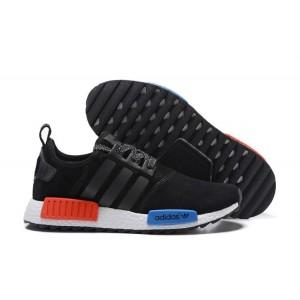 Venta Hombre Mujer Adidas NMD XR4 Running Suede Zapatillas Negras Royal Azul Rojas Rebajas Baratas