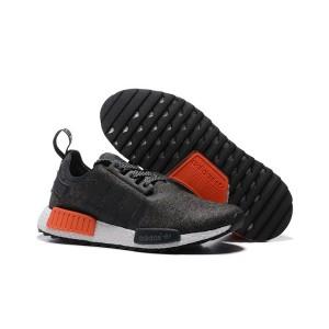 Oferta Hombre Mujer Adidas Originals NMD XR4 Zapatillas de Running Core Negras Naranja Rebajas Baratas