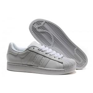 Nueva Adidas Originals Superstar 2 Blancas 160337 Hombre Mujer Casual Zapatillas España Baratas