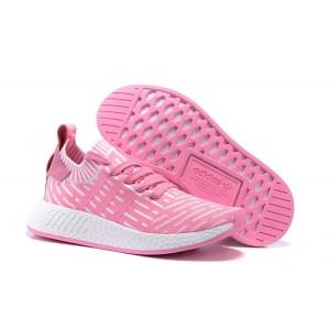 Oferta Mujer Adidas NMD R2 Zapatillas de Running Rosa Blancas Rebajas