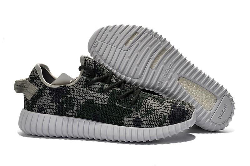 Venta Adidas Yeezy Boost 350 Hombre Zapatillas Camo AQ4839 Baratas