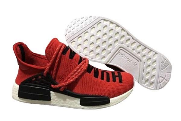 """Comprar Pharrell x Adidas NMD """"Human Race"""" Hombre Zapatillas de Running Rojas Negras Outlet España"""