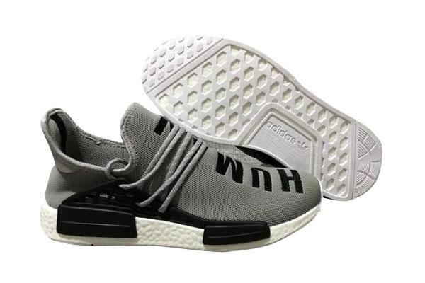 "Compra Pharrell x Adidas NMD ""Human Race"" Hombre Zapatillas de Running Cool Grises Negras España Online"
