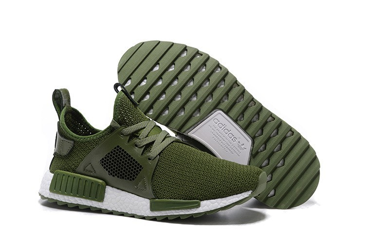 Venta Hombre Adidas NMD XR1 Zapatillas de Running Olive Verdes Blancas Outlet España