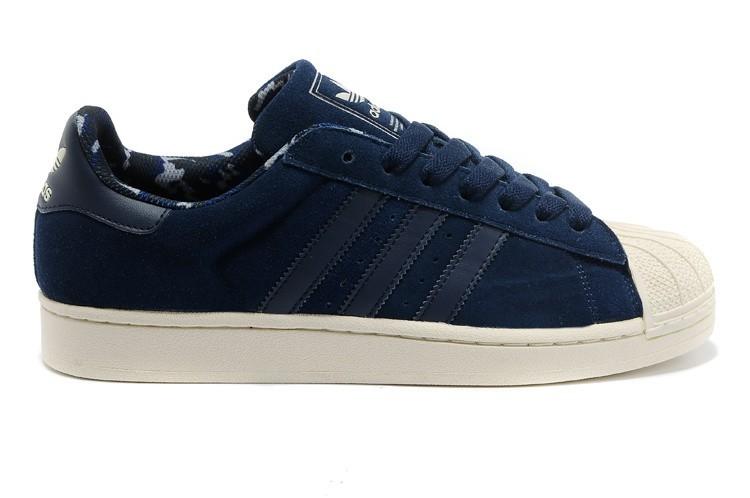 Compra Adidas Originals Superstar 2 Hombre Mujer Casual Zapatillas Marino Doradas Camo D66092 Baratos