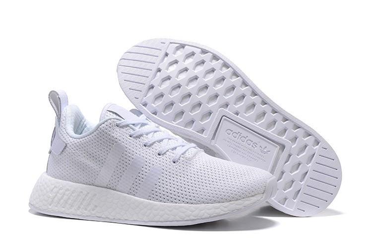 Nueva Hombre Mujer Adidas Originals NMD City Sock 2 PK Zapatillas de Running Blancas BB2956 Outlet España