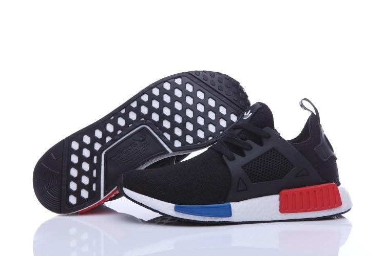 Compra Hombre Zapatillas - Adidas Originals NMD High Top Negras Azul Rojas España