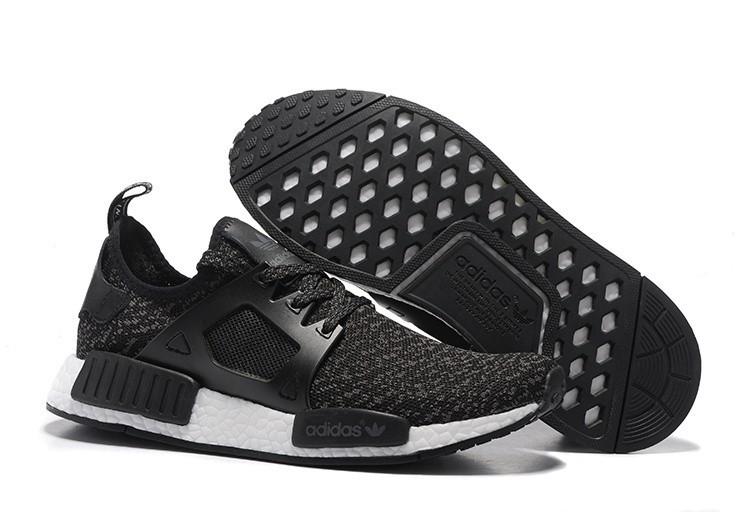 Oferta Hombre Adidas Originals NMD XR1 Zapatillas de Running Negras Blancas Online Baratas
