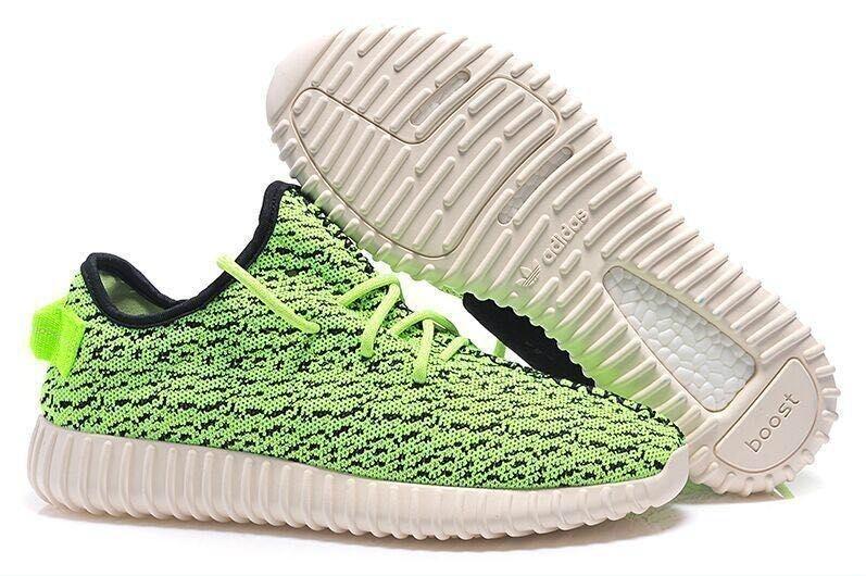 Comprar Adidas Yeezy Boost 350 Zapatillas Hombre Mujer Verdes Negras Outlet España