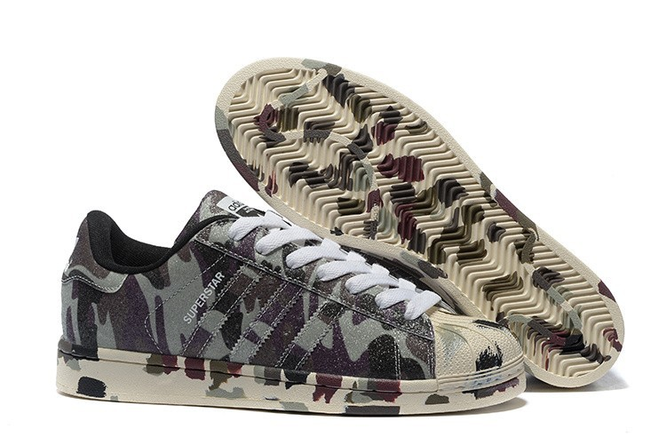 "Comprar Adidas Originals Superstar ""Graphic Pack"" - 2016 Hombre Mujer Zapatillas Hemp Camo Negras Ftw Blancas B35403 Baratas"