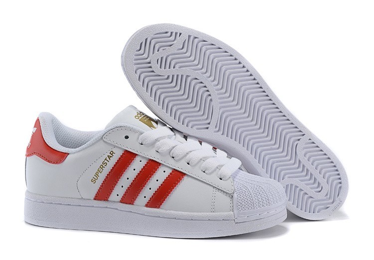 Venta Hombre Mujer Zapatillas: Adidas Originals Superstar Foundation Running Blancas Ftw Claro Scarlet Running Blancas B27139 Outlet España