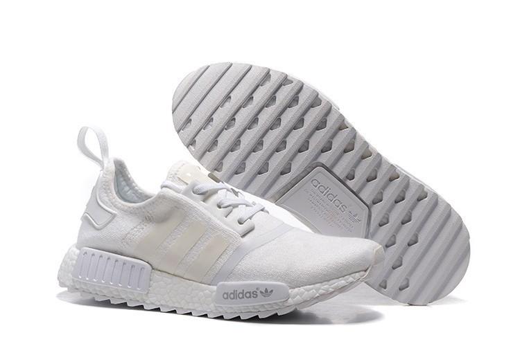 Compra Hombre Mujer Adidas Originals NMD XR4 Zapatillas de Running Blancas Chalk Blancas Outlet España