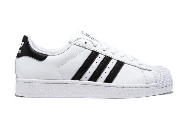 Comprar Hombre Mujer Adidas Originals Superstar II Zapatillas Running Blancas Negras G17068 Baratas