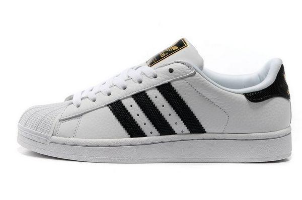Oferta Adidas Originals Superstar II Zapatillas Hombre Mujer Running Blancas Negras V24624 Baratos