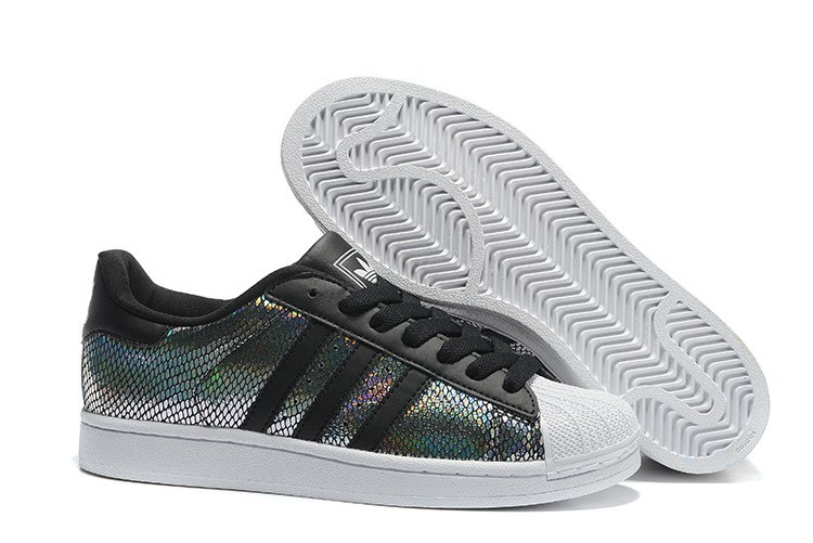 Venta Adidas Originals Superstar II Zapatillas Hombre Mujer Negras Multicolor M20903 España Online