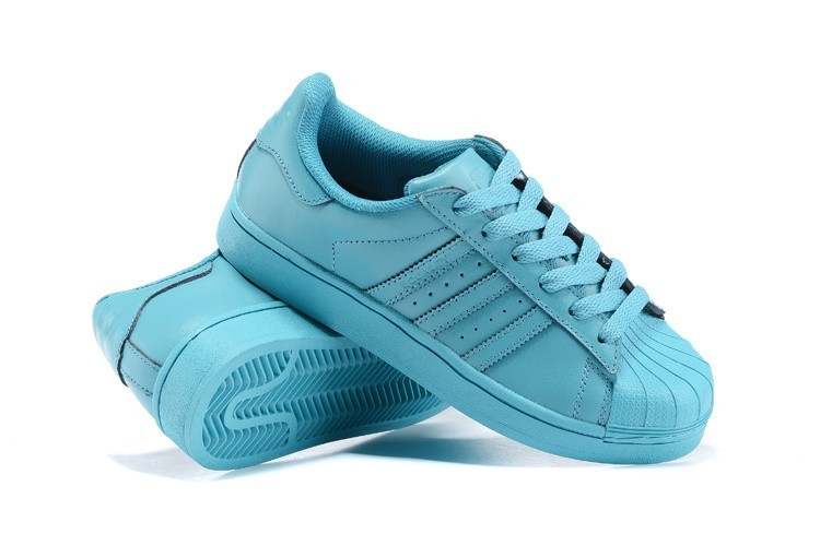 the latest 02abb e2233 Oferta Hombre Mujer Adidas Originals Superstar Supercolor PHARRELL WILLIAMS  Zapatillas Vivid Mint S41822 España Baratas
